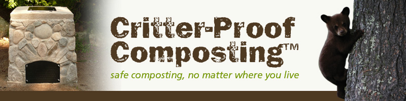 critter-proof composting header